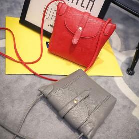 Tas Selempang Wanita Crossbody Purse Clutches Handbag - Black - 2
