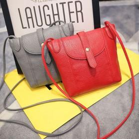 Tas Selempang Wanita Crossbody Purse Clutches Handbag - Black - 3