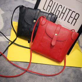 Tas Selempang Wanita Crossbody Purse Clutches Handbag - Black - 5