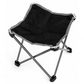 Ostway Kursi Lipat Outdoor Fishing Stool Chair - AM28320 - Black/Gray