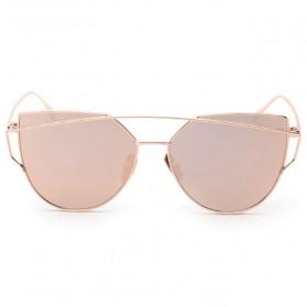 RunBird Kacamata Wanita Cat Eye Sunglasses Classic - 1904 - Pink