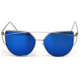 RunBird Kacamata Wanita Cat Eye Sunglasses Classic - Blue