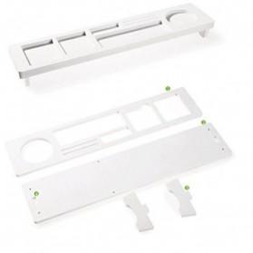 RAINBEAM Meja Mini Multifungsi Eco-Friendly - ZH-1130 - White - 3
