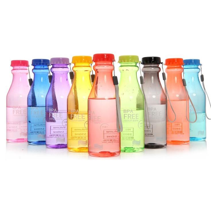 ... Botol Minum BPA Free Clear Bottle 550ml - SM-8043 - Blue - 2 ...