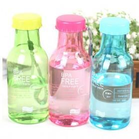 Botol Minum BPA Free Colorful Unbreakable Bottle 350ml - SM-8033 - Blue - 2