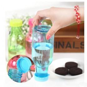 Botol Minum BPA Free Colorful Unbreakable Bottle 350ml - SM-8033 - Blue - 6