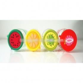 Botol Minum Plastik BPA Free Fruit Infuser 380ml - SM-8436 - Orange - 6
