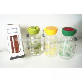 Botol Minum Plastik BPA Free Fruit Infuser 380ml - SM-8436 - Orange - 9