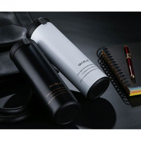 QKELLA Botol Minum Thermos Stainless Steel 450ml - QBW-001 - Silver - 2