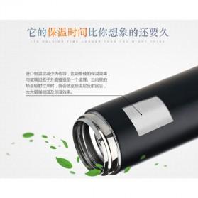 QKELLA Botol Minum Thermos Stainless Steel 450ml - QBW-001 - Silver - 4