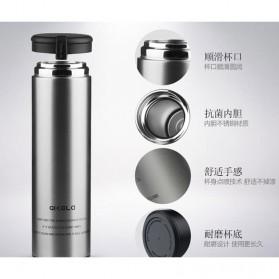 QKELLA Botol Minum Thermos Stainless Steel 450ml - QBW-001 - Silver - 5