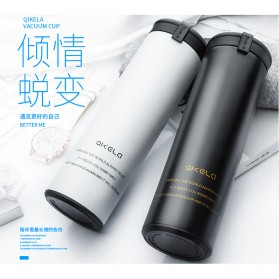 QKELLA Botol Minum Thermos Stainless Steel 450ml - QBW-001 - Blue - 2