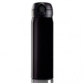 OneTwoCups Vacuum Flask Botol Minum Thermos Stainless Steel 500ml - 304 - Black - 2