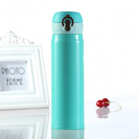 Vacuum Flask Botol Minum Thermos Stainless Steel 500ml - Blue