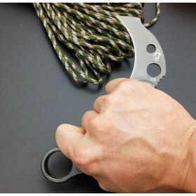 KNIFEZER Pisau Karambit Sabit Mantis Collector Hunting Knife 165mm - MK-2 - Blue - 9