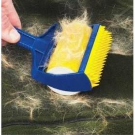 Sticky Buddy Roller Pembersih Kotoran Debu Bulu Hewan - Blue/Yellow - 5