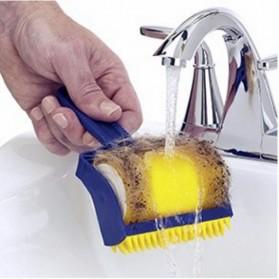 Sticky Buddy Roller Pembersih Kotoran Debu Bulu Hewan - Blue/Yellow - 6