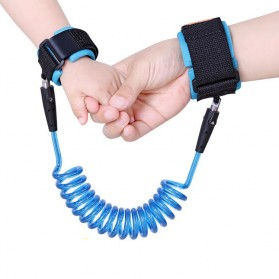 Gelang Tracking Anak Anti Kehilangan 1.5 Meters - Blue