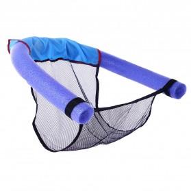 Kursi Mesh Terapung Kolam Renang - Blue - 3