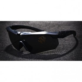 ESS Crossbow Kacamata Hitam Polarized Dengan Frame Myopia 3LS - Black - 3