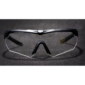 ESS Crossbow Kacamata Hitam Polarized Dengan Frame Myopia 3LS - Black - 4