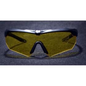ESS Crossbow Kacamata Hitam Polarized Dengan Frame Myopia 3LS - Black - 5