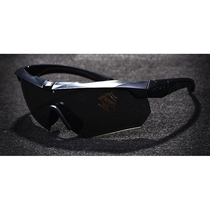 ... ESS Crossbow Kacamata Hitam Polarized Dengan Frame Myopia 3LS - Black -  3 ... b1bc8836d1