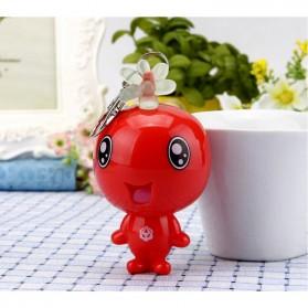 Alarm Perlindungan Diri Gantungan Kunci 120dB - Red - 2