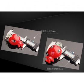 Alarm Perlindungan Diri Gantungan Kunci 120dB - Red - 5