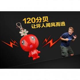 Alarm Perlindungan Diri Gantungan Kunci 120dB - Red - 6