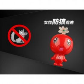 Alarm Perlindungan Diri Gantungan Kunci 120dB - Red - 7