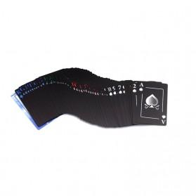 Benniu Poker Kartu Remi Plastik Waterproof - Black - 2