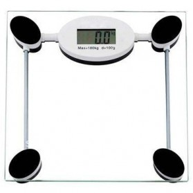 Taffware Digipounds Timbangan Badan Kaca Digital Shape Kotak - SC-06 - Transparent
