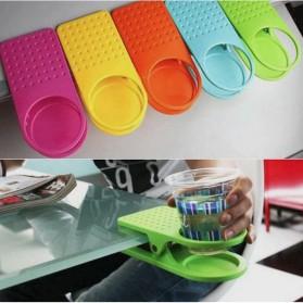 Clip Holder Gelas Botol Minum - Multi-Color - 3