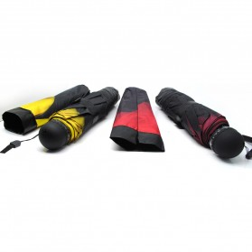 Payung Motif Bunga 3D - Yellow - 4