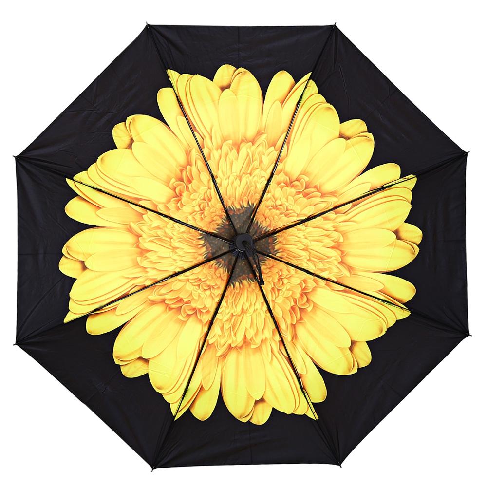 Payung Motif Bunga 3D Yellow JakartaNotebook