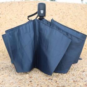 Payung Lipat Otomatis Portabel Warna Solid - PYGBK - Black - 6