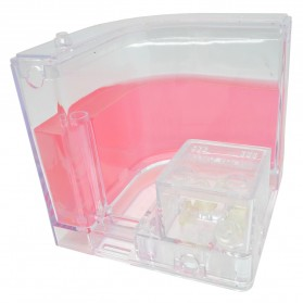 Aquarium Gel Ternak Semut 110x110x110mm - Rose