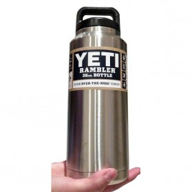 Yeti Rambler Thermos Stainless Steel 1080ml - 304 - Silver - 2