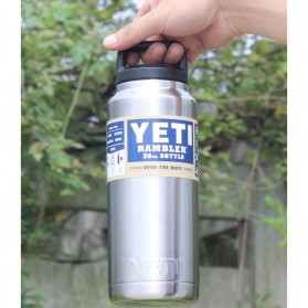 Yeti Rambler Thermos Stainless Steel 1080ml - 304 - Silver - 6