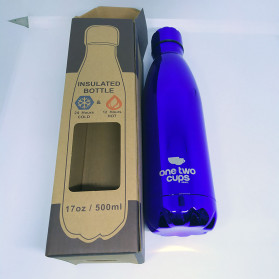 OneTwoCups Swell Botol Minum Thermos 500ml - HS-6611 - Blue Metalic - 2