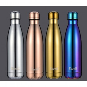 OneTwoCups Swell Botol Minum Thermos 500ml - HS-6611 - Blue Metalic - 8