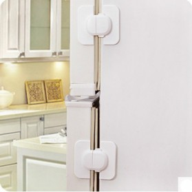 Seria Safety Lock Pintu Kulkas Serbaguna - 503 - White