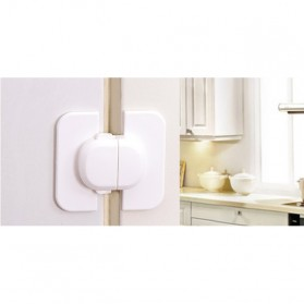 Safety Lock Pintu - White - 6