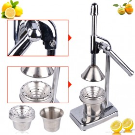 Alat Peras Jus Buah Stainless Steel - Silver - 3
