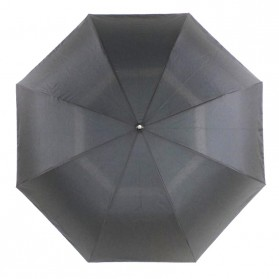 Payung Terbalik Double Layer - Black/Blue - 5