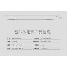 Timbangan Badan Elektronik Bluetooth 150KG - Taffware SC-07 - Black - 5