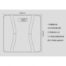 Timbangan Badan Elektronik Bluetooth 150KG - Taffware SC-07 - Black - 6