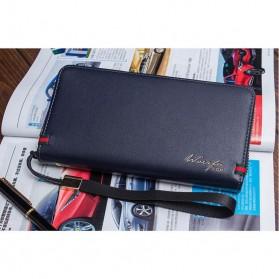 Dompet Kulit Pria Model Panjang - Black
