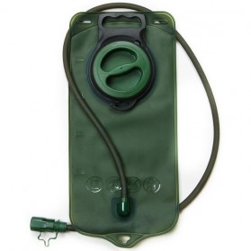Kantung Air Minum Outdoor TPU Water Bag 2L - Green - 1